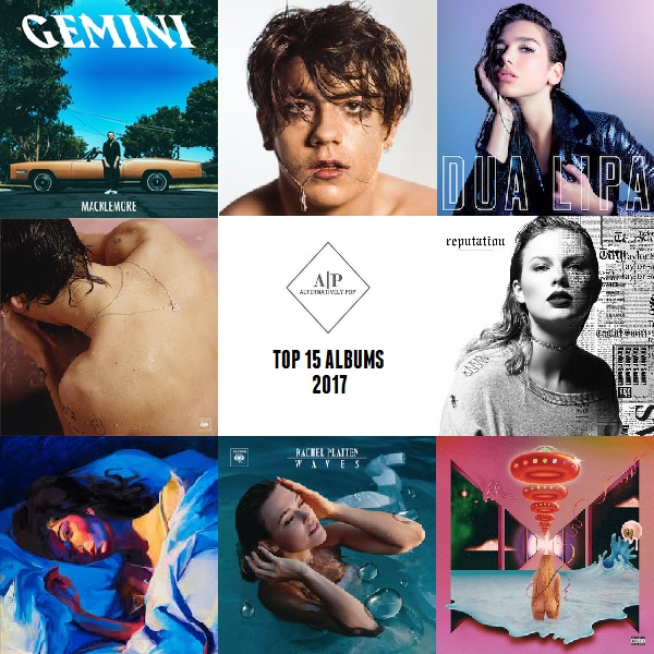 Alternatively Pop's Top 15 Albums of 2017