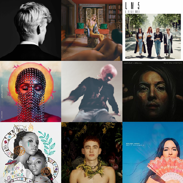 Alternatively Pop's Top 10 Albums of 2018
